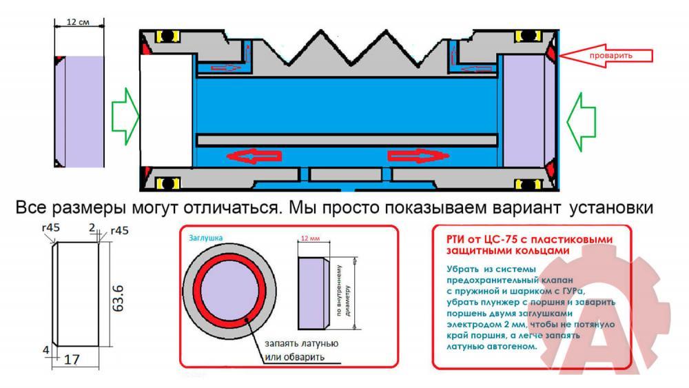 Подготовка поршня в ГУРе Т40-1.jpg