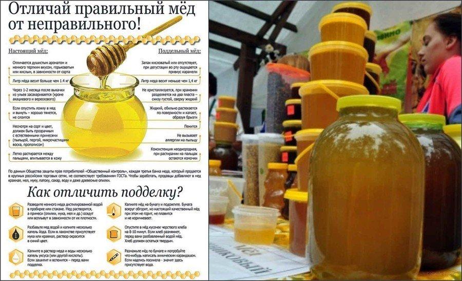 Как выбрать мед в магазине