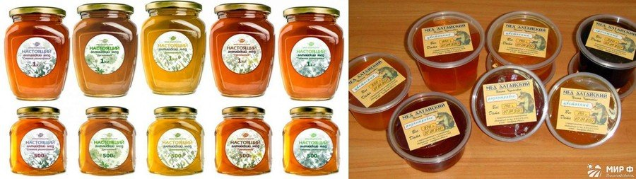 Алтайский мед фото