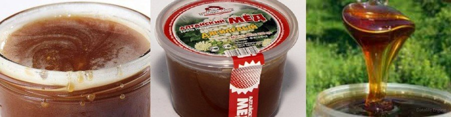 Как выглядит дягилевый мед