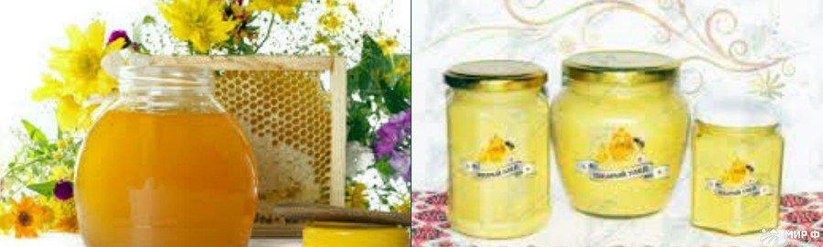 Золотарниковый мед фото