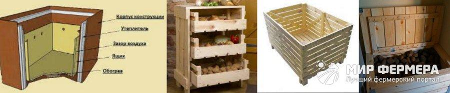 Ящик для хранения овощей своими руками