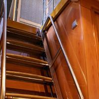 Лестница в погреб размеры