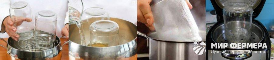 Подготовка банок к консервации