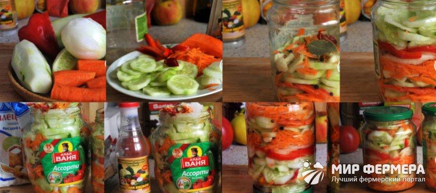 Салат из огурцов пальчики оближешь рецепт с фото