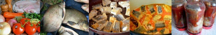 Консервирование рыбы в томатном соусе