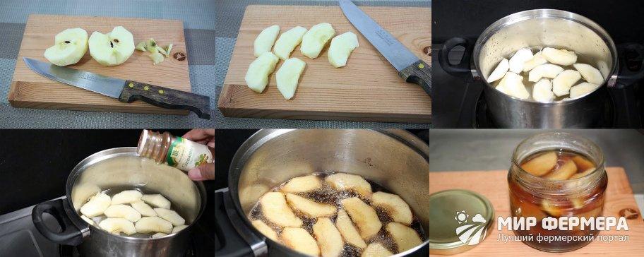 Консервирование фруктов