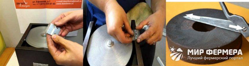 Как точить ножницы для стрижки овец